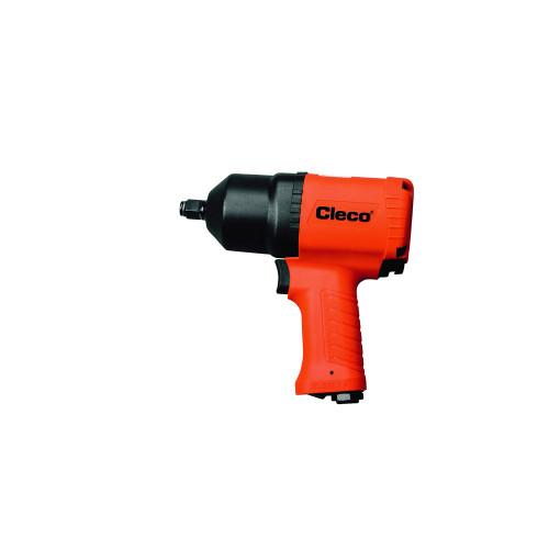"Cleco CV-500P Pneumatic Pistol Grip Impact Wrench | CV Composite Series | 8,500 RPM | 1,200 BPM | 1/2"" Drive"