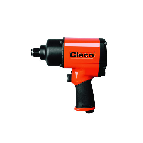 "Cleco CWM-750P Pneumatic Pistol Grip Impact Wrench | CWM Metal Housing Series | 6,000 RPM | 1,200 BPM | 3/4"" Pin Anvil Drive"