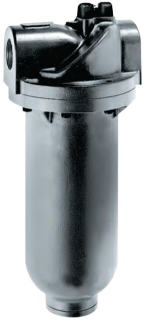 """ARO F35581-310 1-1/2"""" Coalescing Filter   Super-Duty Series   Manual Drain   Metal Bowl   710 SCFM"""