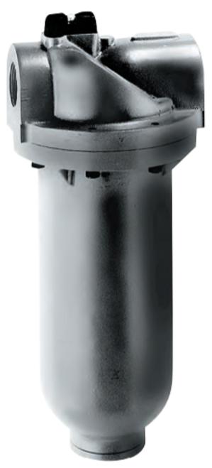 "ARO F35581-411 1-1/2"" Standard Filter   Super-Duty Series   Auto Drain   Metal Bowl   1,280 SCFM"