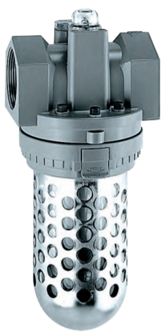 "ARO L36561-100 1"" Lubricator | Super-Duty Series | Polycarbonate Bowl with Guard | 374 SCFM"