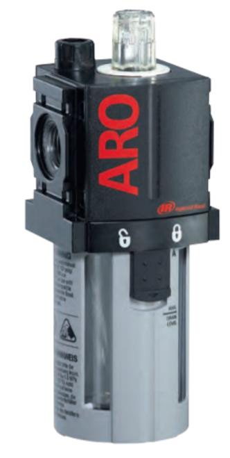 "ARO L36221-100 1/4"" Lubricator | 1500 Series | Polycarbonate Bowl with Guard | 51 SCFM"