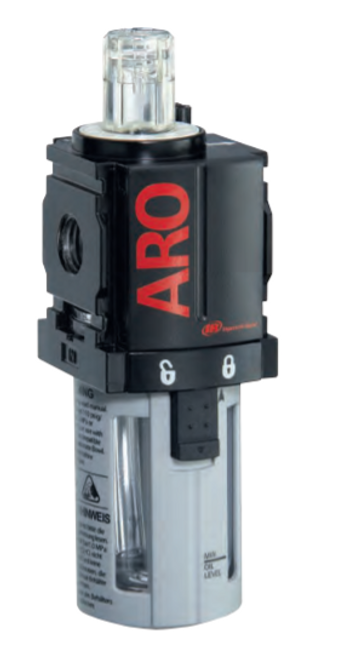 "ARO L36121-100 1/4"" Lubricator | 1000 Series | Polycarbonate Bowl with Guard | 51 SCFM"