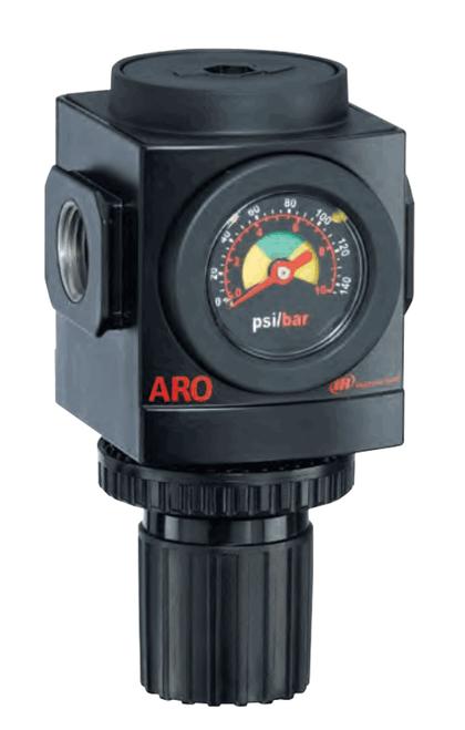 "ARO R37331-600 3/8"" Relieving Regulator   2000 Series   Standard Knob Control   179 SCFM"