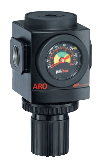 "ARO R37341-120 1/2"" Non-Relieving Regulator   2000 Series   Standard Knob Control   210 SCFM"