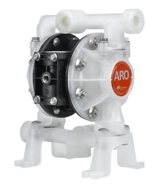 "ARO PD05P-AKS-KTT-B 1/2"" Non-Metallic Compact Diaphragm Pump (PTFE)"