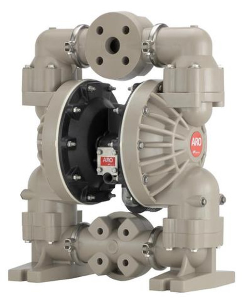 "ARO Diaphragm Pump 6661T3-3EB-C | 100 GPM | 1-1/2"" Ports | Santoprene Diaphragms"
