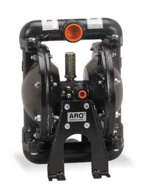 "ARO Diaphragm Pump 666100-244-C   35 GPM   1"" Ports   Teflon/PTFE Diaphragms"