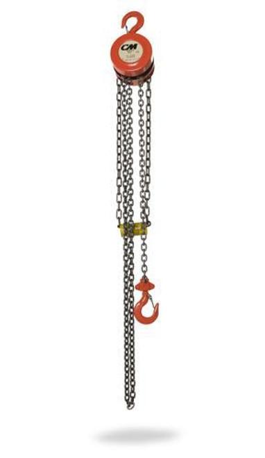 CM Hand Chain Hoist Model 2255A | 1/2 Ton Capacity | 10 Feet Lift