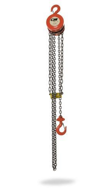 CM Hand Chain Hoist Model 2231A | 1/2 Ton Capacity | 20 Feet Lift
