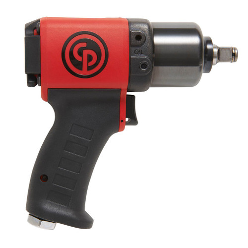 """Chicago Pneumatic CP6738-P05R Industrial Impact Wrench   1/2"""" Drive   Max Torque 350 Ft. lbs   11500 RPM"""