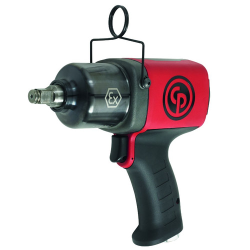 """Chicago Pneumatic CP6748EX-P11R Atex Impact Wrench   1/2"""" Drive   Max Torque 800 Ft. Lbs   8400 RPM"""