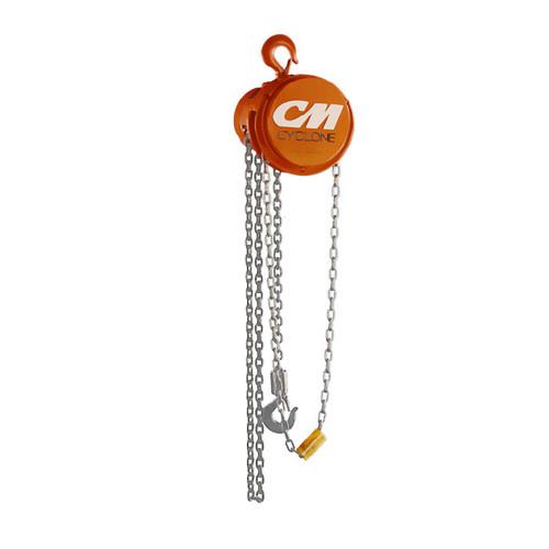 CM CYCLONE HAND CHAIN HOIST MODEL 4630 | 6 TON CAPACITY | 10 FEET LIFT