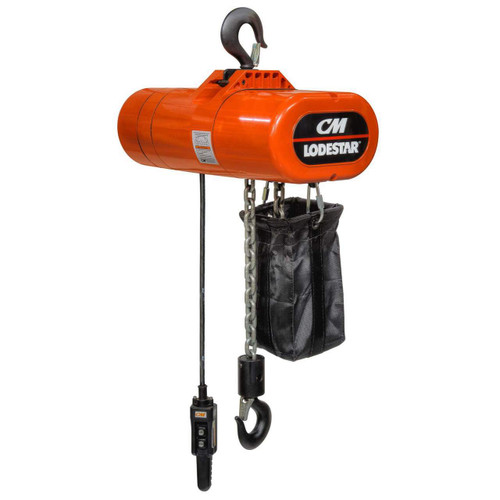 "CM Lodestar Fabric Chain Bag   2478   7-1/2"" x 7-1/2"" Bag Size   13"" Bag Height"