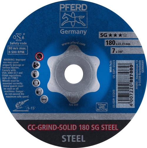 PFERD Grinding Wheel for steel CC-GRIND - SOLID