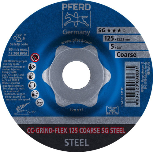 PFERD Grinding Wheel for Steel CC-GRIND-FLEX