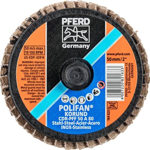 PFERD Type CDR Flap Disc Aluminum Oxide A