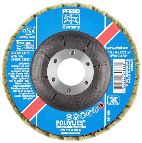 "PFERD 3/4"" Non-Woven Flap Disc"