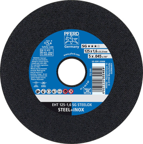 "PFERD .040"" Type 1 Aluminum Oxide Cut-Off Wheel"
