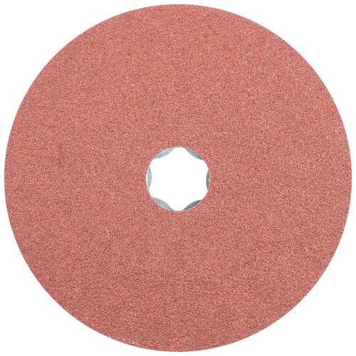 """Pferd Fiber Disc   Pferd 4-1/2"""" COMBICLICK Fibre Disc   36 Grit   Aluminum Oxide A"""