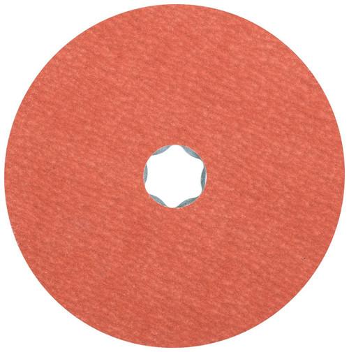 """Pferd Fiber Disc   Pferd 4-1/2"""" COMBICLICK Fibre Disc   220 Grit   Aluminum Oxide A-COOL"""