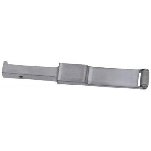 "Dynabrade Dynafile II Contact Arm Assembly | 11300 | 1/4"" D x 3/8"" W | Steel Wheel"