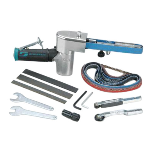 Dynabrade 40321 Dynafile II Air-Powered Abrasive Belt Tool Versatility Kit | 0.5 HP Motor | 20,000 RPM