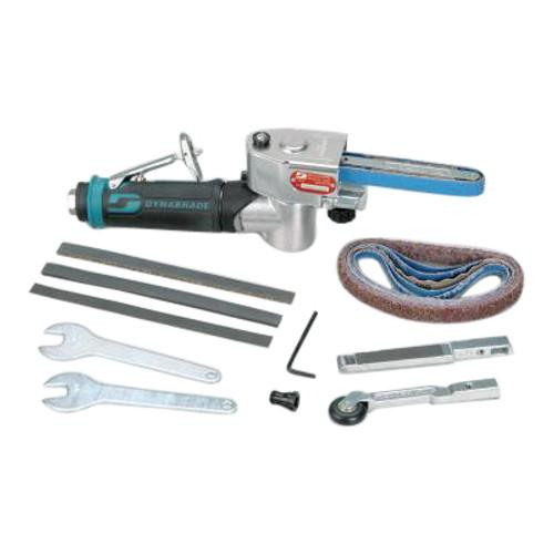 Dynabrade 15006 Mini-Dynafile II Air-Powered Abrasive Belt Tool Versatility Kit | 0.4 HP Motor | 25,000 RPM