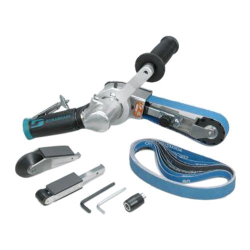 Dynabrade 15302 Dynafile������������������������������������������������������ III Air-Powered Abrasive Belt Tool Versatility Kit | 0.7 HP Motor | 20,000 RPM