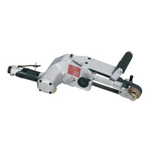 Dynabrade 11486 Dynabelte Accu-Grinder Air-Powered Abrasive Belt Tool with Adjust-A-Wheel | 1.2 HP Motor | 13,000 RPM