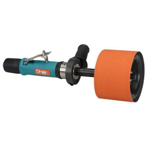 Dynabrade 13204 Dynastraight������������������������������������������������������ Air-Powered Abrasive Finishing Tool | 0.7  HP Motor | 3,400 RPM