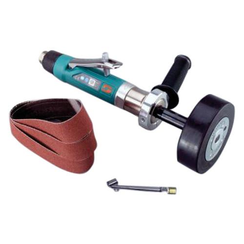 Dynabrade 13535 Dynastraight������������������������������������������������������ Air-Powered Abrasive Finishing Tool  Versatility Kit   0.5  HP Motor   4,500 RPM