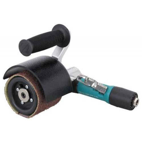 Dynabrade 13300 Mini-Dynisher Air-Powered Abrasive Finishing Tool | 0.4 HP Motor | 3,200 RPM