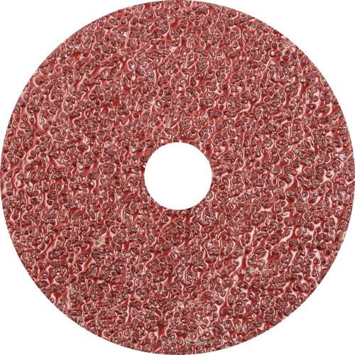 "Pferd 5"" Resin Fiber Disc   62502   Aluminum Oxide A   24 Grit   7/8"" Arbor Hole (Box of 25)"