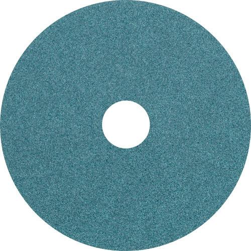 "Pferd 4-1/2"" Resin Fiber Disc   62466   Zirconia Alumina Z   80 Grit   7/8"" Arbor Hole (Box of 25)"