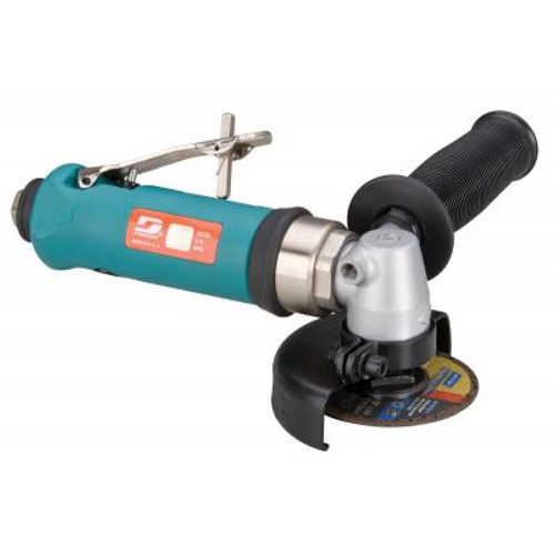 """Dynabrade 54730 3"""" Right Angle Type 41 Cut-Off Tool   0.7 HP   18,000 RPM   Composite Housing   Rear Exhaust   3/8""""-24 Spindle Thread"""