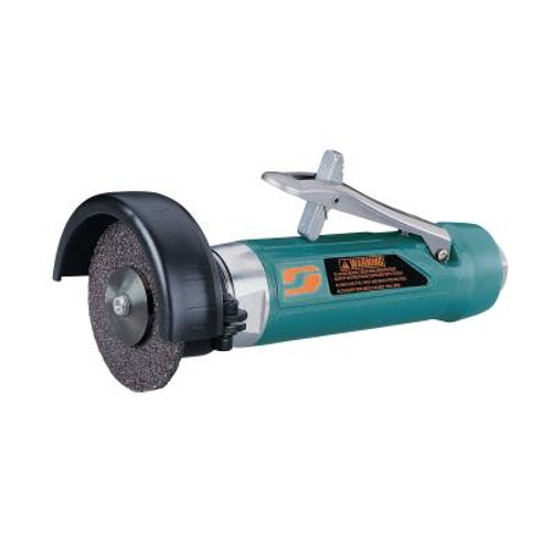 """Dynabrade 52574 4"""" Straight-Line Cut-Off Wheel Tool   1 HP   18,000 RPM   Rear Exhaust   3/8""""-24 Spindle Thread"""