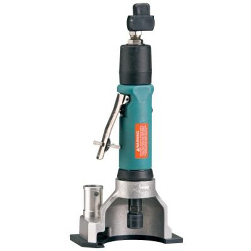 """Dynabrade 52418 3"""" Straight-Line Central Vacuum Flush Cut-Off Wheel Tool   0.7 HP   20,000 RPM   Rear Exhaust   3/8"""" Collet"""