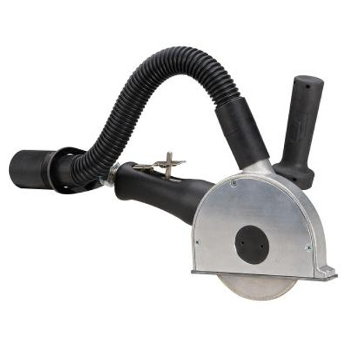 """Dynabrade 52615 5"""" Right Angle Central Vacuum Cut-Off Wheel Tool   1.3 HP   12,000 RPM   Rotary Vane   Rotational Exhaust   3/8""""-24 Spindle Thread"""
