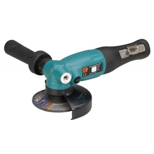 """Dynabrade 52630 4"""" Right Angle Depressed Center Wheel Grinder   1.3 HP   13,500 RPM   Geared Motor   Rotational Exhaust   3/8""""-24 Spindle Thread"""