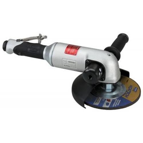 """Dynabrade 50348 7"""" Right Angle Depressed Center Wheel Grinder   2.0 HP   6,000 RPM   Side Exhaust   5/8"""" - 11 Spindle Thread"""