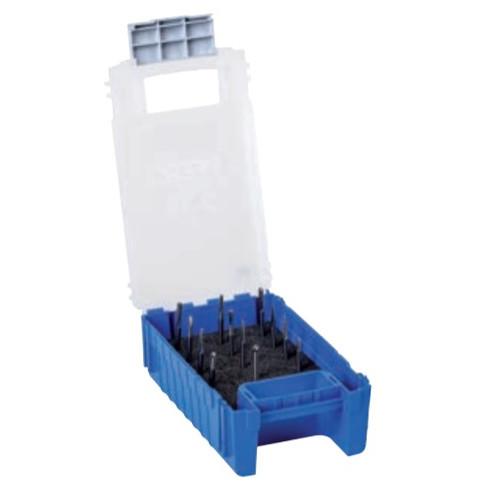 "PFERD 26525 12 Piece Carbide Burr Set - SINGLE CUT   1/8"" Shank Diameter"
