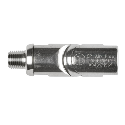 """Chicago Pneumatic 8940171569 1/4"""" NPT Air Flex Fitting Swivel Connector 