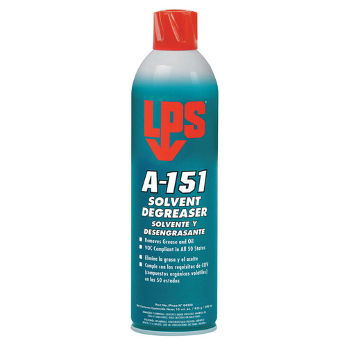 LPS 04320 A-151 Cleaner/Degreaser, 15 oz. Aersol Can