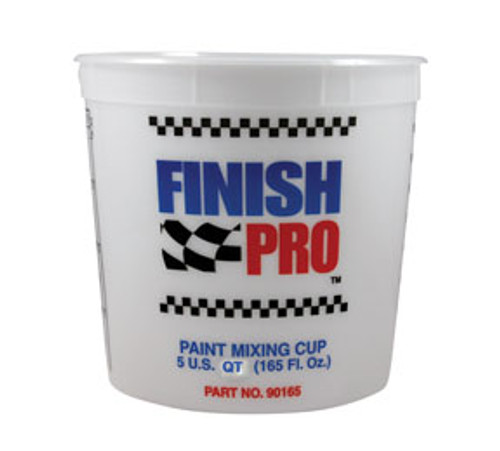 Finish Pro FPR-90165 5 Quart Mixing Cup (Case of 100)