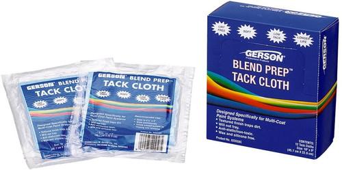 "Gerson GER-20008C Blue Blend Prep 9"" x 18"" Tack Cloth"