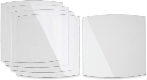Miller 216326 Welding Helmet Front Lens Cover (Pack of 5)