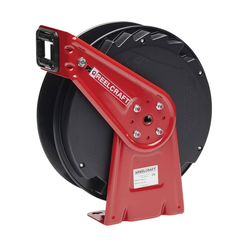 Reelcraft RT405-OLP Medium Duty Spring Retractable Hose Reel | 1/4 in. Hose Diameter | 50 Ft. Hose Length | 300 Max PSI