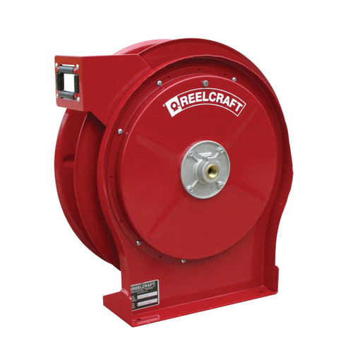 Reelcraft A5806 OLP Premium Duty Spring Retractable Hose Reel   1/2 in. Hose Diameter   50 Ft. Hose Length   300 Max PSI