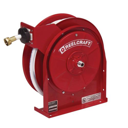 Reelcraft A5835 OLBSW23 Premium Duty Potable Water Hose Reel | 1/2 in. Hose Diameter | 35 Ft. Hose Length | 150 Max PSI